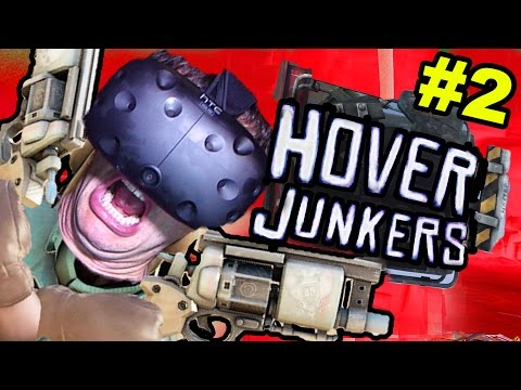 INSANE VIRTUAL REALITY GUN BATTLE: Hover Junkers (HTC Vive VR)