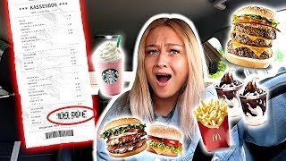 Ich darf NUR essen, was PERSON VOR MIR bestellt! 24 Stunden!!! *Food Challenge*⎥ PIA
