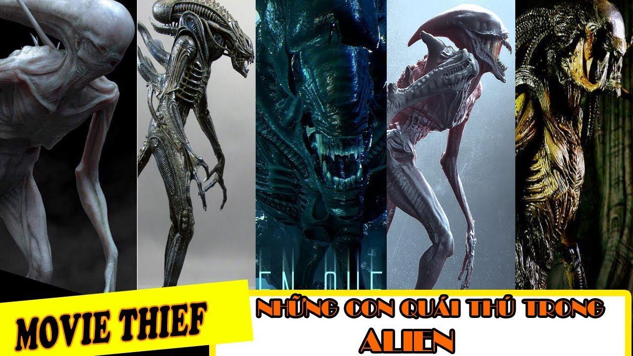 [ALIEN] Những Con Quái Vật Ghê Rợn, Trong Quái Vật Không Gian -ALIEN-  Horror Creature in Alien