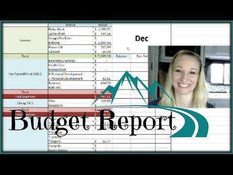 Dec Income/Expense Report | Fulltime RV/Debt Free Life