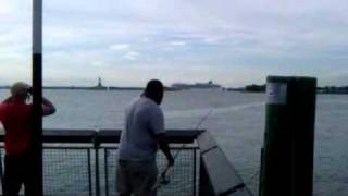 FISHING IN RED HOOK(BROOKLYN)