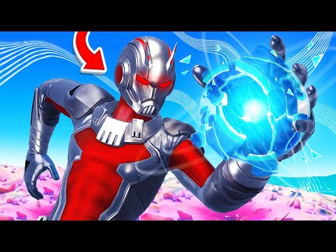 ANT-MAN in FORTNITE! (Final Boss) - TG Plays