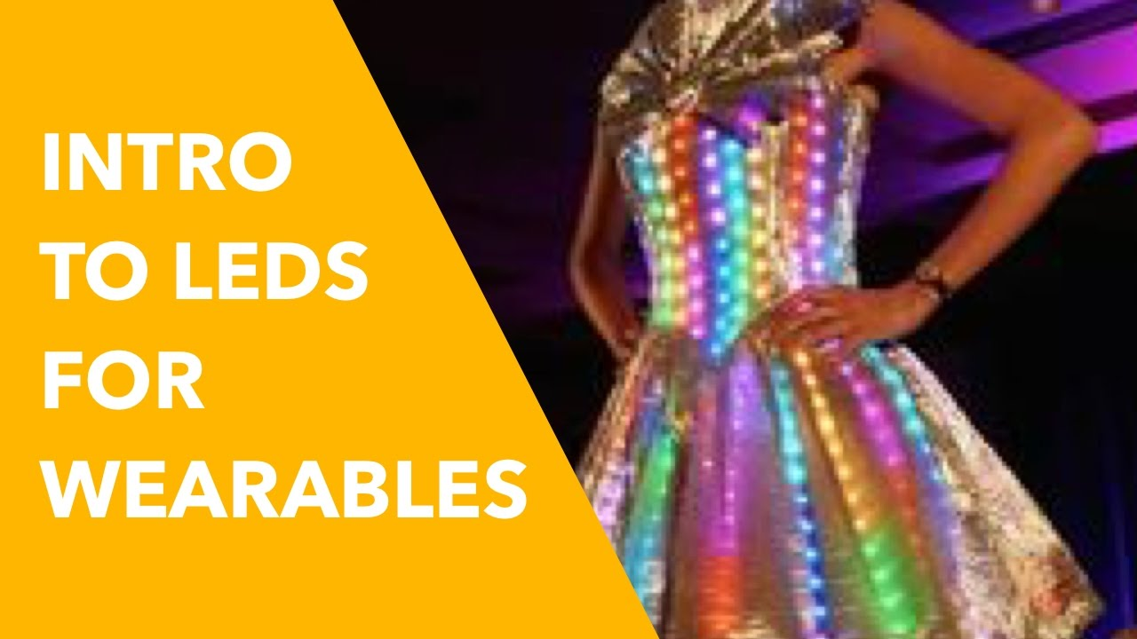 LED Lights for Wearable Tech: Beginner How-To Guide - YouTube