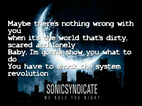 Sonic Syndicate - Revolution, Baby (Lyrics)