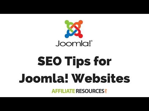3 SEO Tips for Joomla Websites