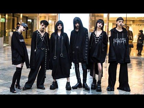 "BERCERK ""Dirty City"" Harajuku Street Fashion"