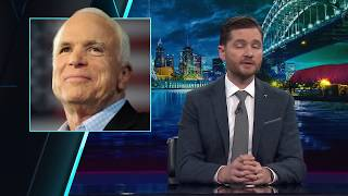 NBC announces death of Sen. John McCain...then dolphins