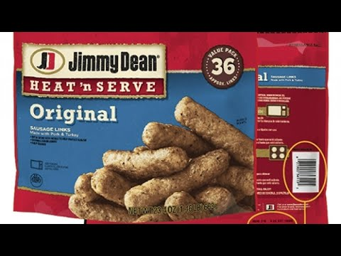 Craig Stevens - RECALL ALERT! Jimmy Dean sausage-link products