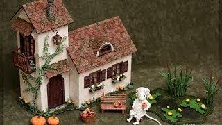 как сделать декоративный домик (How to make decorative house)