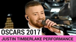 Justin Timberlake 'Can't Stop The Feeling' Performance (OSCARS 2017)