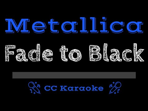 Metallica   Fade to Black CC Karaoke Instrumental