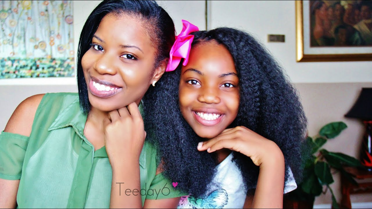Hairstyles For Short Hair 11 Year Olds: 11 Year Old Does Her Own Crochet Braids!