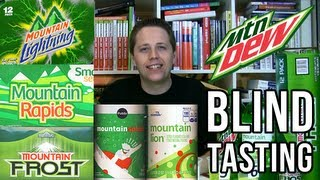 Mountain Dew and Store Brands Blind Tasting (Soda Tasting #105)