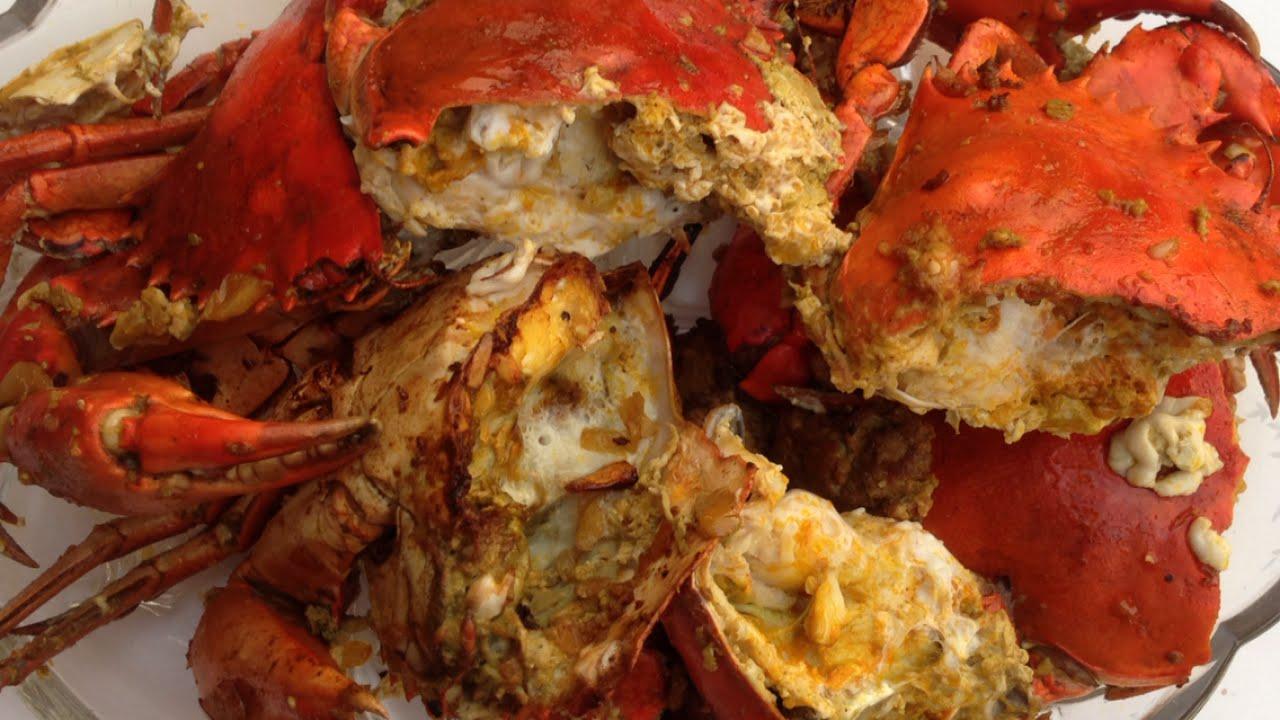 cracked garlic crab recipe