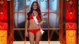 [FULL] Patricia Yurena Rodriguez - Spain - Miss Universe 2013 Preliminary Performance
