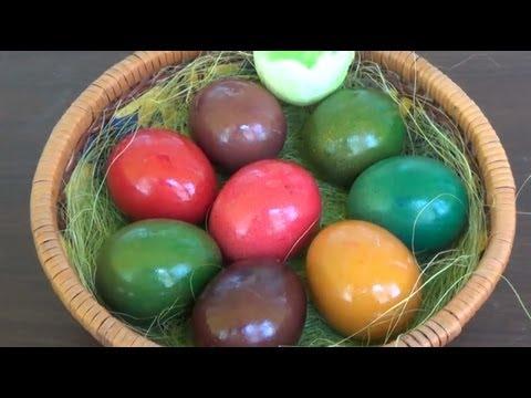 Как да боядисаме яйца за Великден