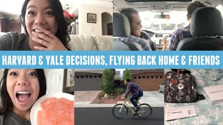 Harvard & Yale Transfer Decisions, Flying Back To Vegas & Friends!