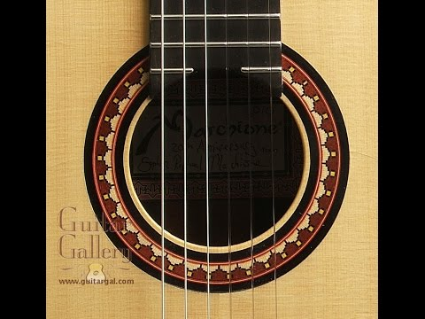Marchione Classical Guitar by Guitar Gallery TN