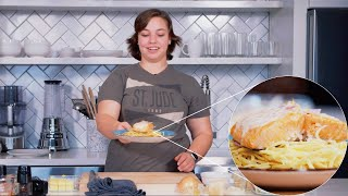 Simple and Delicious Oven Baked Salmon · Cooking with Carly