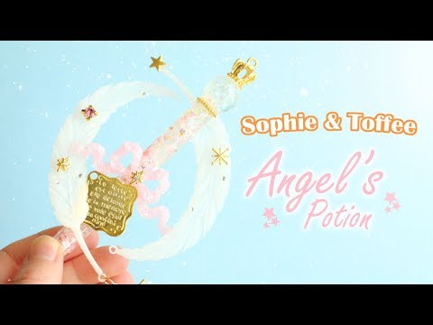 DIY Resin Angel's Potion│Sophie & Toffee Subscription Box July 2017