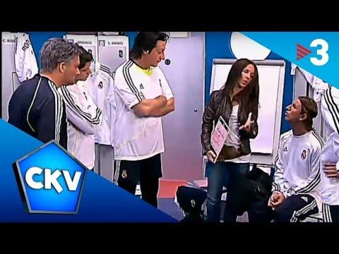 Sara Carbonero, al vestidor del Madrid  - Crackòvia - TV3