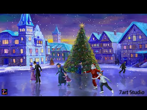 christmas rink live wallpaper apps on google play - Animated Christmas Wallpaper