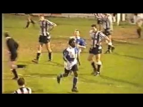 Bristol Rovers v Newcastle, 22nd December 1990, Division 2
