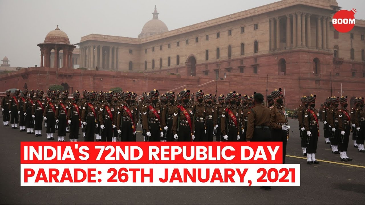 India S 72nd Republic Day Parade Live 26th January 2021 Boom Republic Day 2021 Youtube