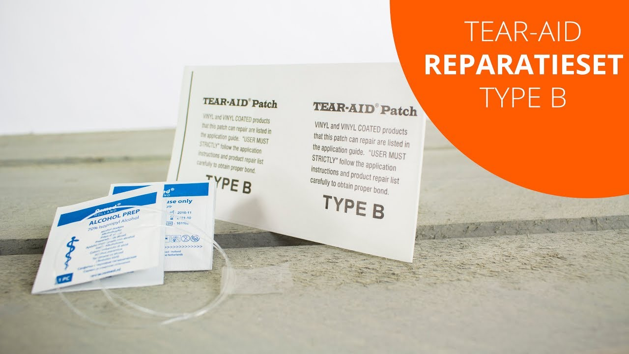 Reparatie Pvc Zwembad Tear Aid Reparatieset Type B Zwembad Jacuzzi Boot En Luchtbed Productvideo Toppy