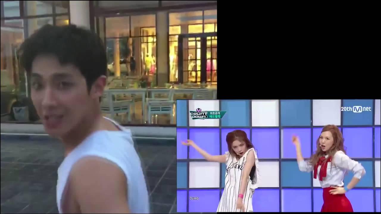 "Lee Joon and Red Velvet ""Dumb Dumb"""