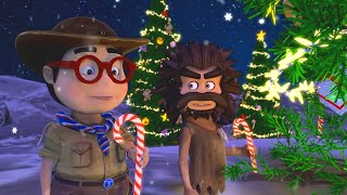 Oko Lele Christmas Special Gift From The Sky CGI animated short Super ToonsTV