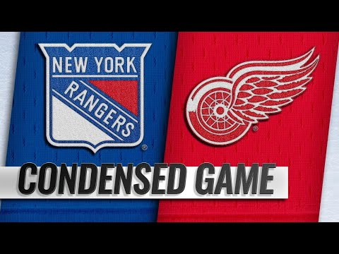 11/09/18 Condensed Game: Rangers @ Red Wings