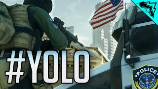 "DISPATCH, V.I.P. OSCAR MIKE! - ""YOLO on the Battlefield"" #65 (BF Hardline CrossHair Funny Moments)"