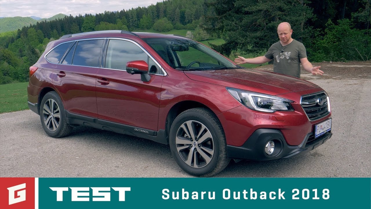 Subaru Outback 2,5i-S CVT (2018) - TEST - GARÁŽ.TV - Rasťo Chvála - YouTube