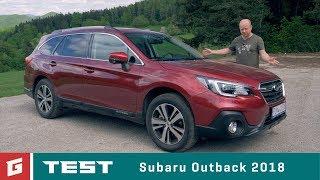 Subaru Outback 2,5i-S  CVT (2018) - TEST - GARÁŽ.TV - Rasťo Chvála
