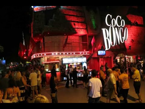 Coco Bongo NUDO night club experience playa del carmen [HD]