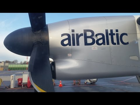 Europe's Coolest Little Airline: Air Baltic Business Class