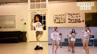 韓國小蘿莉熱跳SISTAR《Shake It》表情到位超萌(影音取自 FB/2! Idol)