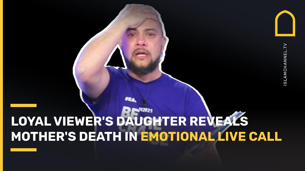 Download MUST WATCH! Loyal Islam Channel viewer's daughter reveals mother's death in emotional live call