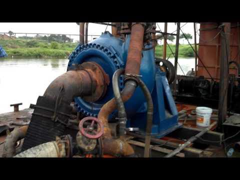 Sand Pump Sand pumping vessel 6/4D Gravel Pump in Weir Warman Brand