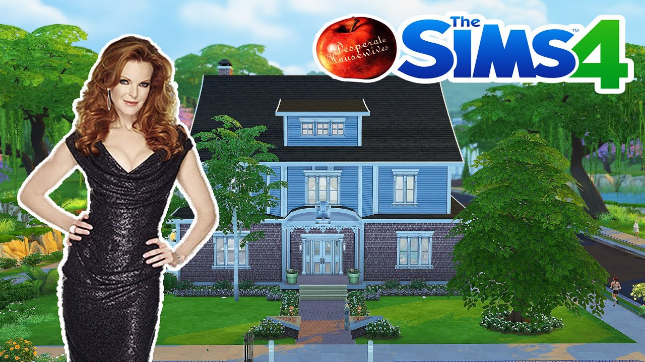D co co sims 4 maison de bree desperate housewives for Decoration maison sims 4