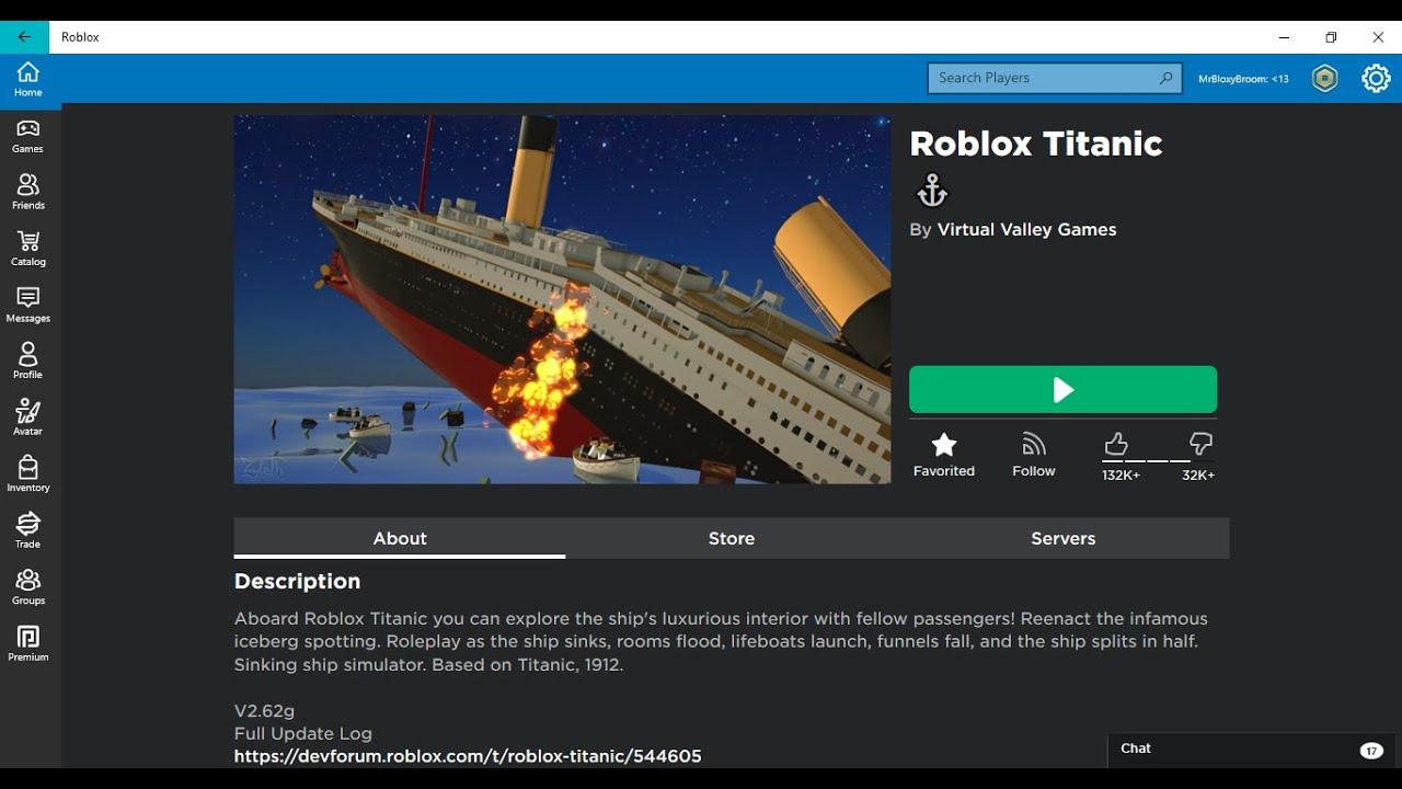 Surviving The Roblox Titanic Youtube