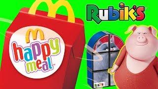 Happy Meal • Sing & Gru Gru Minionki • Kostka Rubika • McDonalds