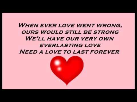 Everlasting Love. Love Affair. with lyric.