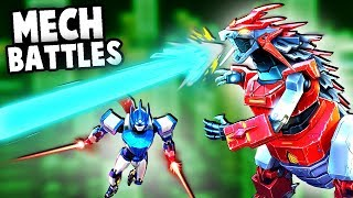 MECHAGODZILLA VS OPTIMUS PRIME! Epic Mech Battles! (Override: Mech City Brawl Gameplay)