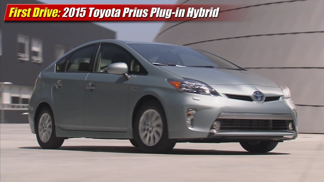 First Drive 2017 Toyota Prius Plug In Hybrid