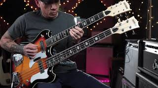 Eastwood Custom Shop Doubleneck 4/6 demo with RJ Ronquillo