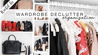 HUGE Wardrobe Declutter & Organization!
