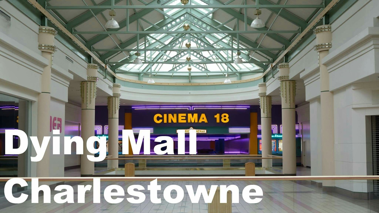 Dead Mall: Dying Charlestowne Mall - St. Charles, IL - YouTube