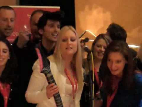 Teambuilding with Switzerland Tourism & Song Division at Metropolis Studios Chiswick London, UK